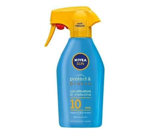 NIVEA SUN SPRAY 300 ML SPF 10 PROTECT & BRONZE TRIGGER