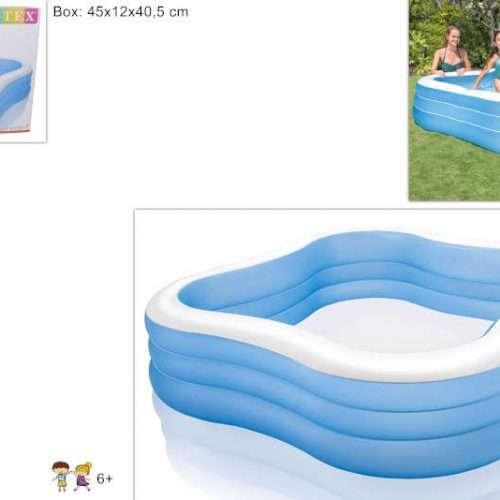 foto piscina Gonfiabile QUADRATA