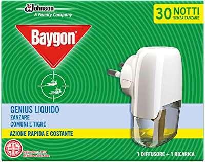 BAYGON GINIUS DIFFUSORE LIQUIDO