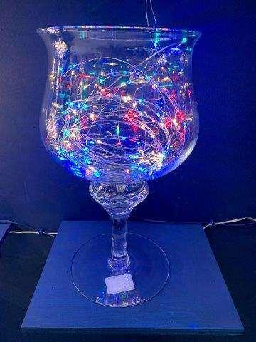 FILO 300 LED MULTICOLORE DA ESTERNO (mt 29,90 estensione luci + mt 4 cavo trasparente)