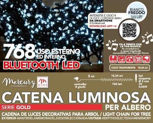 FILO 768 LUCE LED BIANCO CON COMANDO MOVIMENTO E GRADAZIONE ATTRAVERSO APP-LUNG. 18.