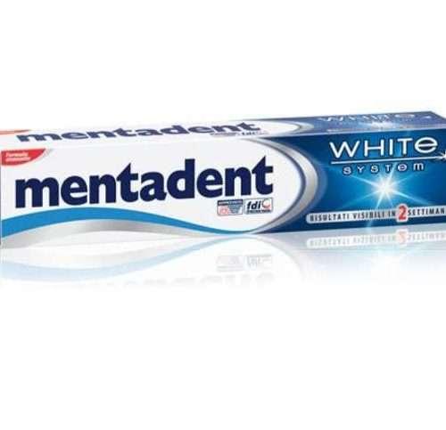 MENTADENT DENTIFRICIO WHITE SYSTEM 75ML