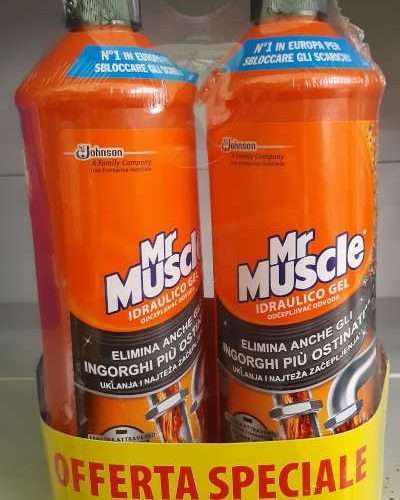 MR MUSCLE IDRAULICO GEL 1LT+1LT
