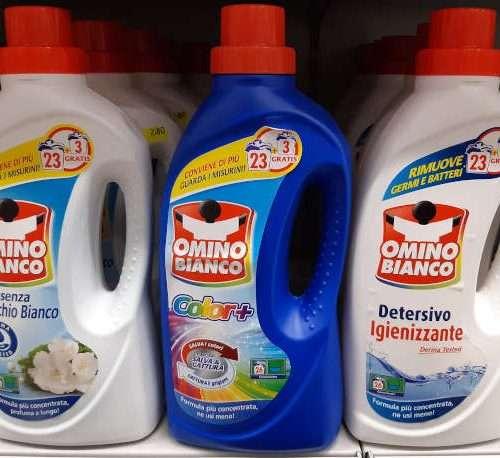 OMINO BIANCO DETERSIVO PER BUCATO 26 LAVAGGI
