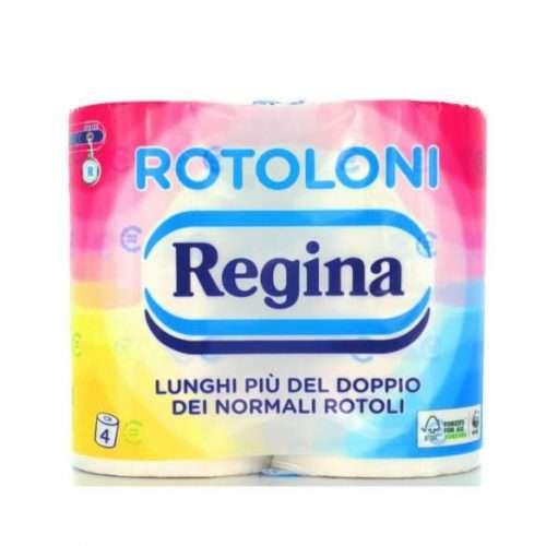 REGINA 4 ROTOLONI CARTA IGIENICA 2 VELI