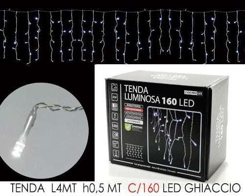 TENDA 4MT CON 160 LED GHIACCIO LX0.5 MT H