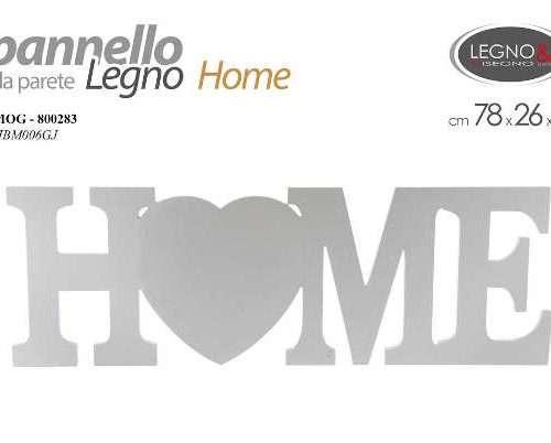 PANNELLO DA PARETE HOME 78X26 CM