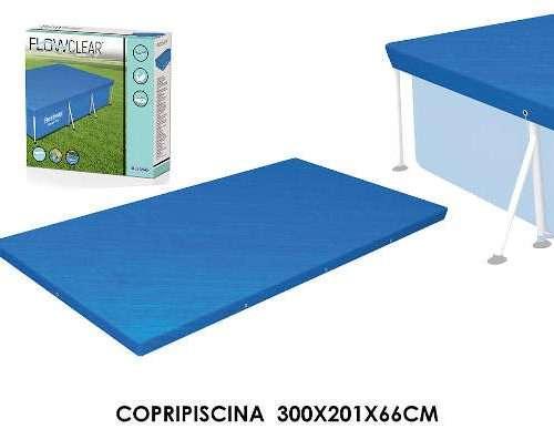 COPRIPISCINA FRAME 300X200X66 CM