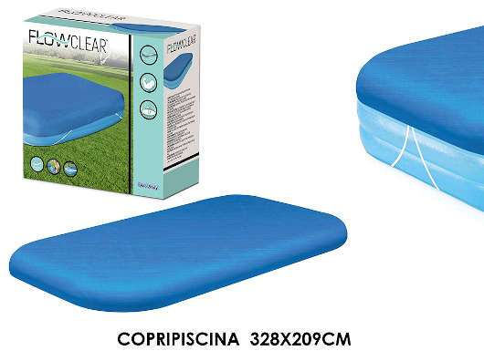 COPRIPISCINA FAMILY RETT CM 328X209