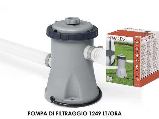 POMPA DI FILTRAGGIO 1249 LT/H