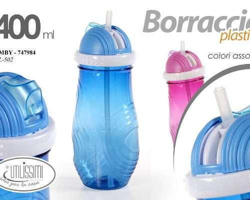 MBY/BORRACCIA C/CANN. ASS. 400ML L-502