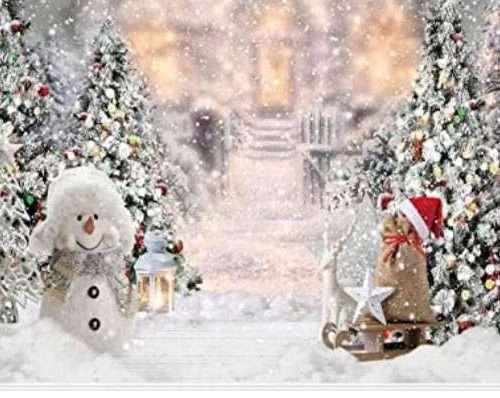 "NEVE DECORATIVA (neve spray,neve a rotoli,tappetino per albero natale bianco ""effetto neve"",batuffoli di cotone decorativi)"